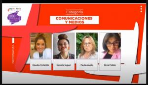 Corparaucanía premió a cuatro comunicadoras dentro de las 100 mujeres líderes de La Araucanía